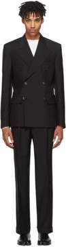 Maison Margiela Black Double-Breasted Suit