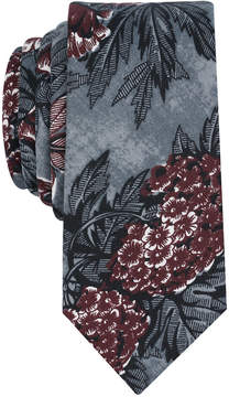 Bar III Men's Nesty Floral Skinny Tie, Created for Macy's