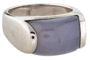 Bvlgari 18K Tronchetto Cocktail Ring
