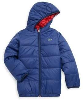 Lacoste Boy's Blouson Puffer Coat
