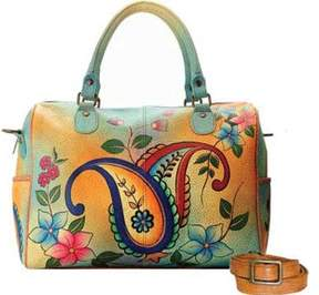Anuschka Anna By ANNA by Hand Painted Large Satchel 8067 (Women's)