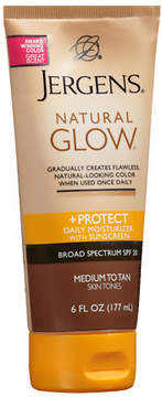 Jergens Natural Glow & Protect Daily Moisturizer SPF 20 Medium to Tan Medium to Tan