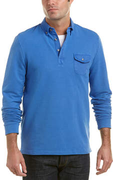 Michael Bastian Gray Label Rugby Polo Sweatshirt