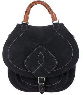 Maison Margiela Suede Saddle Bag