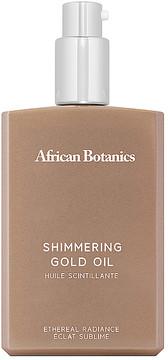 African Botanics Marula Shimmering Gold Oil.