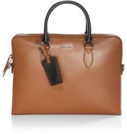 Burberry Barrow Leather Briefcase