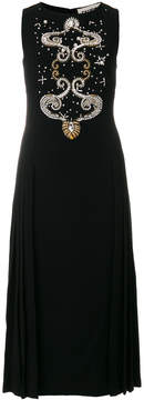 Fausto Puglisi embellished midi dress