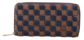 Louis Vuitton Damier Paillettes Zippy Wallet - BROWN - STYLE