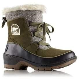 Sorel Tivoli Faux Fur Suede Winter Boots