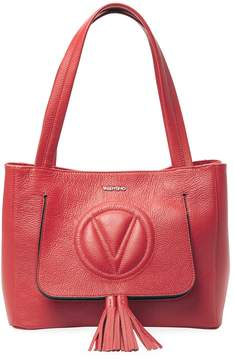 Mario Valentino Valentino by Women's Estelle Dollaro Leather Shoulder Bag