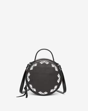 Express Diamond Stud Circle Crossbody Bag