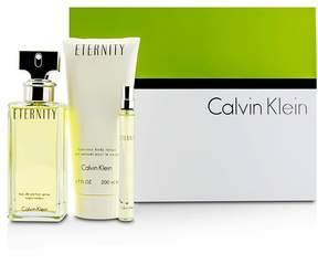 Calvin Klein Eternity Coffret: Eau De Parfum Spray 100ml/3.4oz + Body Lotion 200ml/6.7oz + Eau De Parfum 10ml/0.33oz
