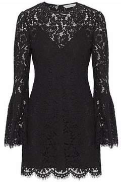 Rachel Zoe Scalloped Corded Lace Mini Dress