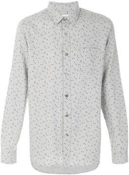 Closed raindrop printed shirt