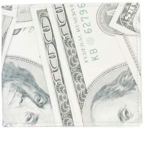 Maison Margiela dollar print billfold wallet