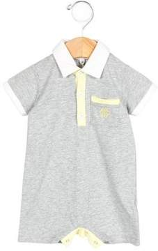 Roberto Cavalli Boys' Short Sleeve Polo All-In-One w/ Tags
