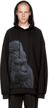 Juun.J Black Gorilla Hoodie
