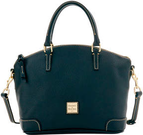 Dooney & Bourke Pebble Grain Charli Satchel - BLACK BLACK - STYLE