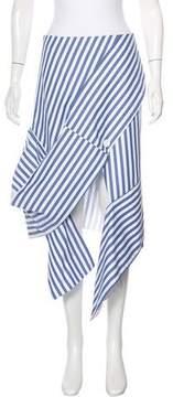 Celine Detached Striped Skirt w/ Tags