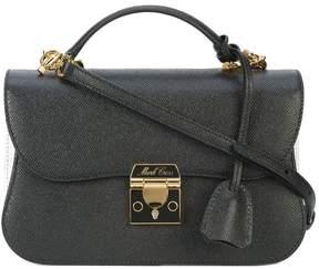 Mark Cross paneled shoulder bag