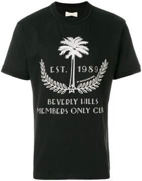 Ih Nom Uh Nit Palm print oversized T-shirt