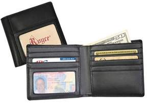 Royce Leather Men's Double Id Hipster Wallet 119-6.