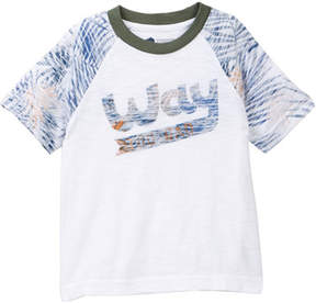 Tucker + Tate Reverse Print Raglan Tee (Toddler & Little Boys)