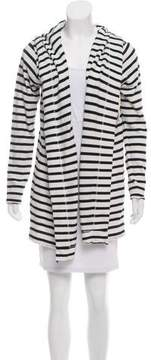 White + Warren Long Sleeve Hooded Cardigan