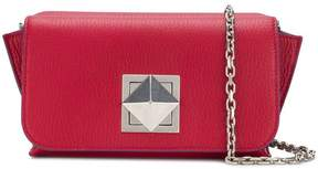 Sonia Rykiel double compartment shoulder bag
