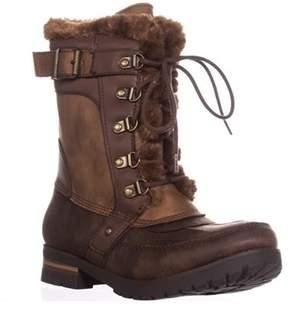 Rock & Candy Danlea Mid-calf Winter Boots, Brown.