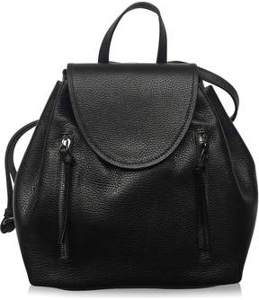 Joanna Maxham Highline Black Leather Backpack