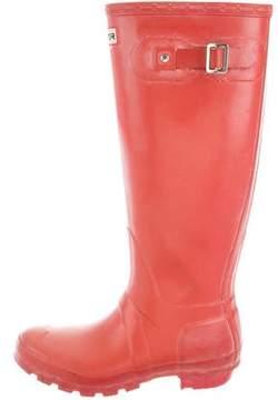 Hunter Round-Toe Rubber Rainboots