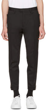DSQUARED2 Black Chic Zip Trousers