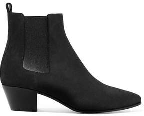 Saint Laurent Rock Suede Chelsea Boots - Gray