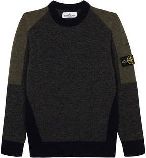 Stone Island Knitted crew neck jumper 4-14 years