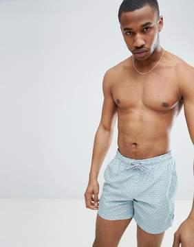 Esprit Swim Shorts With Geometric Print