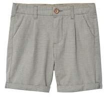 MANGO Prince of Wales bermuda shorts