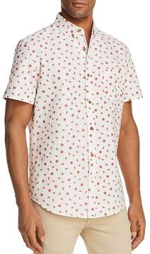 Sovereign Code Crystal Cove Watermelon Short Sleeve Button-Down Shirt