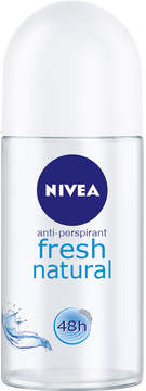 Nivea Fresh Natural Roll On Deodorant by 50ml Roll On)