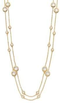Adriana Orsini Long Double-Row Station Necklace
