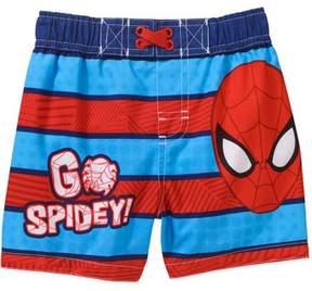 Spiderman MARVEL Newborn Baby Boy Swim Trunks