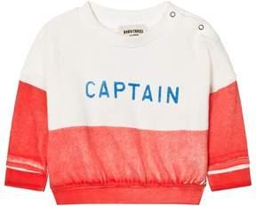 Bobo Choses Red Captain Boat Sweatshirt