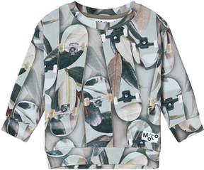Molo Grey Summer Skate Morell Sweatshirt