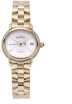 Audemars Piguet Millenary 14908BA.OO.D001CR.01 18K Yellow Gold 28mm Womens Watch