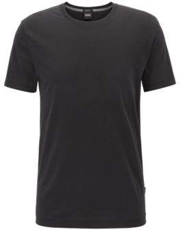 BOSS Hugo Regular-fit T-shirt in soft cotton L Black
