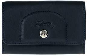 Longchamp Card Holder Le Cuir Pliage - BLUE - STYLE