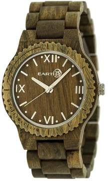 Earth Bighorn Collection ETHEW3504 Unisex Wood Watch with Wood Bracelet-Style Band