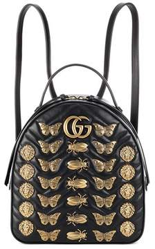Gucci GG Marmont matelassé leather backpack - BLACK - STYLE