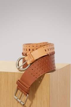 Maison Margiela Perforated double belt