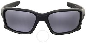 Oakley Straightlink Grey Rectangular Sunglasses